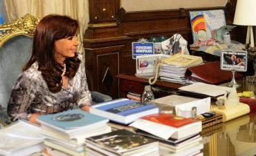 Cristina recibió al economista francés Thomas Piketty