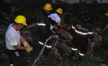 Exitoso trabajo de Prevención y Emergencias en la zona del río Vaqueros