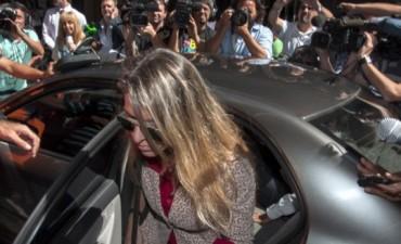 La ex esposa del fiscal Nisman lleva más de siete horas declarando