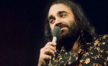 Murió  Demis Roussos a los 68 años el cantante