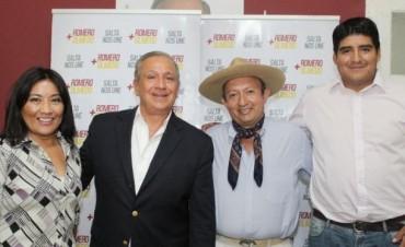 Juan Calos Romero sumó candidatos del Interior