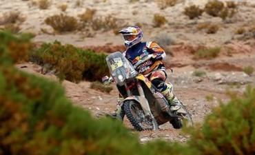 Price se adjudicó la quinta etapa del Dakar