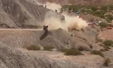 Rally Dakar 2017:  El impactante vuelco de Carlos Sainz