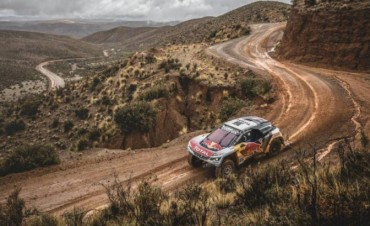 El Rally Dakar inicia la 7ma. etapa con nuevo recorrido