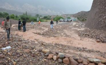 Alud de barro provocó dos muertos y la evacuación de un pueblo en Jujuy