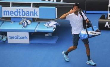 Djokovic  eliminado en Australia por el tenista uzbeko