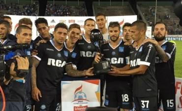Racing  se quedó con el primer trofeo del verano al empatar con Atlético Tucumán