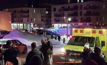 Tiroteo en una mezquita en Canadá: al menos seis muertos
