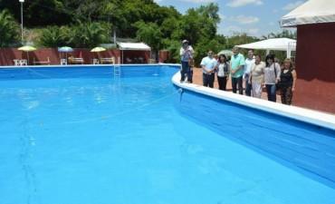 Quedó habilitado el natatorio municipal de villa Las Rosas