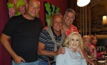 Mirtha Legrand ceno con los Midachi luego de ver su show