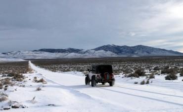 El frío llegó a África y nevó en el desierto del Sáhara