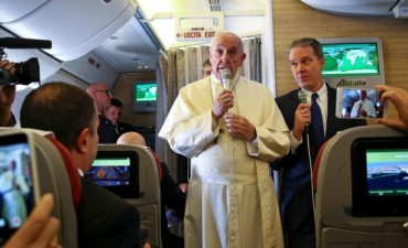 """El Papa  reafirmó su cercanía"""" y sus bendiciones al su Patria"""