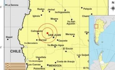 Temblor en San Juan y se sintió en Mendoza