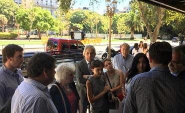 Procedimiento judicial en la sede de las Madres: Hebe se atrinchera