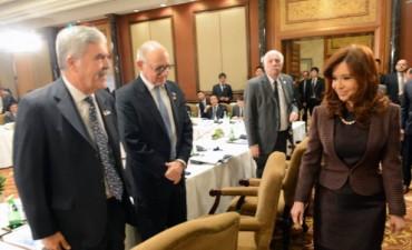 La Presidenta se presentó caminando en China