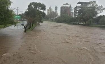 El gobierno nacional asiste a los damnificados en Córdoba