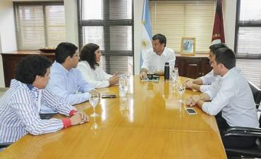 Cerrillos:El gobierno reiteró el respaldo a la gestión municipal