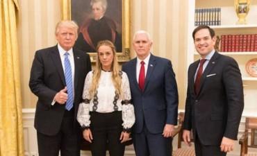 """Trump pide la liberación """"inmediata"""" del opositor Leopoldo López"""