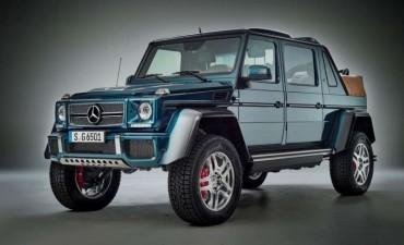 Mercedes-Maybach G 650 Landaulet: lujo extremo para cualquier camino