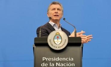 Macri dijo que los argentinos lo van a apoyar en las legislativas