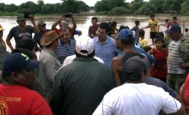 Urtubey:Se hará un plan permanente de emergencia para las zonas con riesgo de inundaciòn