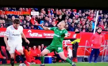 Sevilla está en la final de la Copa del Rey Con un golazo del  Mudo Vázquez