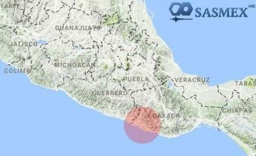 Un fuerte terremoto de magnitud 7,2 sacude México, con el epicentro en Pinotepa Nacional
