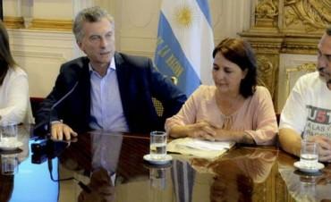 Macri recibió a familiares de Once