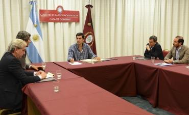 Urtubey encabezó la reunión del Gabinete Económico