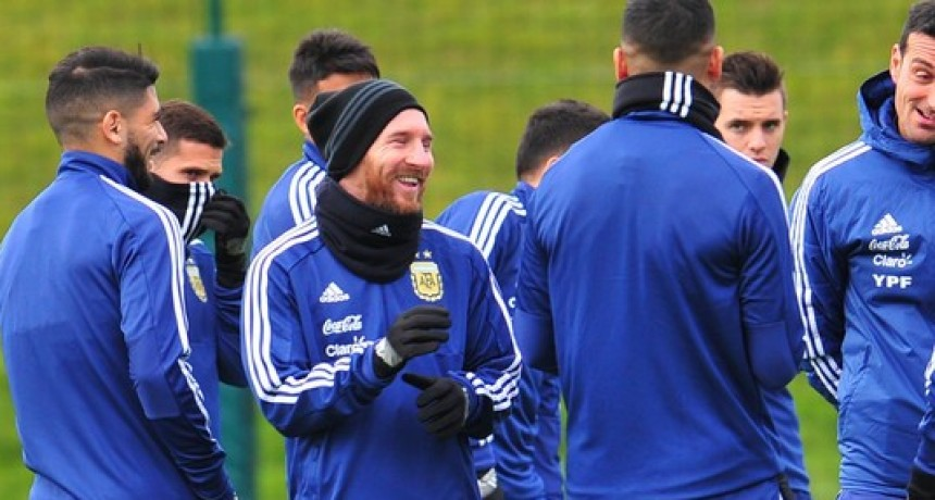 Messi se integrò al Seleccionado Argentino en Italia