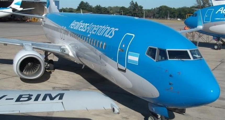 Aerolìneas Argentina suspende la venta de pasajes hasta el próximo domingo