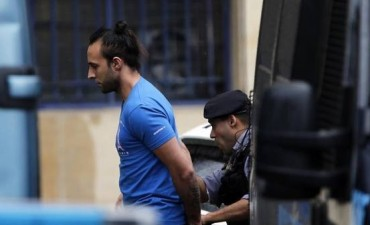 Fariña esta detenido en Ezeiza con cámaras de seguridad
