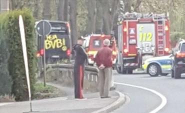 Atacaron con un artefacto explosivo el colectivo del equipo Borussia Dortmund