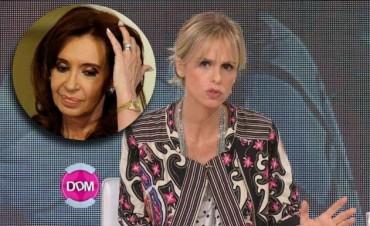 Mariana Fabbiani le respondió a Cristina Kirchner