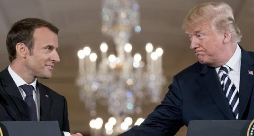 Trump y Macrom presionan a Irán con un nuevo acuerdo nuclear