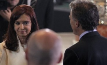 Cristina se cruzó con Mauricio Macri luego del Tedeum