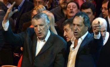 Gioja y Scioli asumieron la conducción del PJ