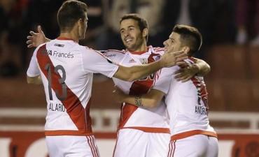 River le ganó a Melgar y lidera su grupo en la Copa Libertadores