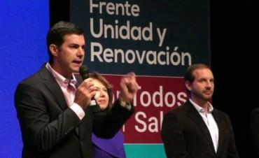 Urtubey presentó los precandidatos a diputados nacionales