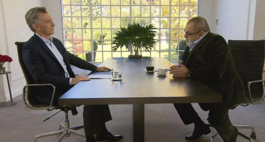 Macri:Ahora vamos por menos gradualismo porque hemos deteriorado la confianza en el mundo
