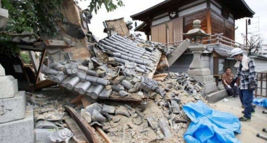 Fuerte terremoto en japón 3 muertos, más de 300 heridos y destrozos