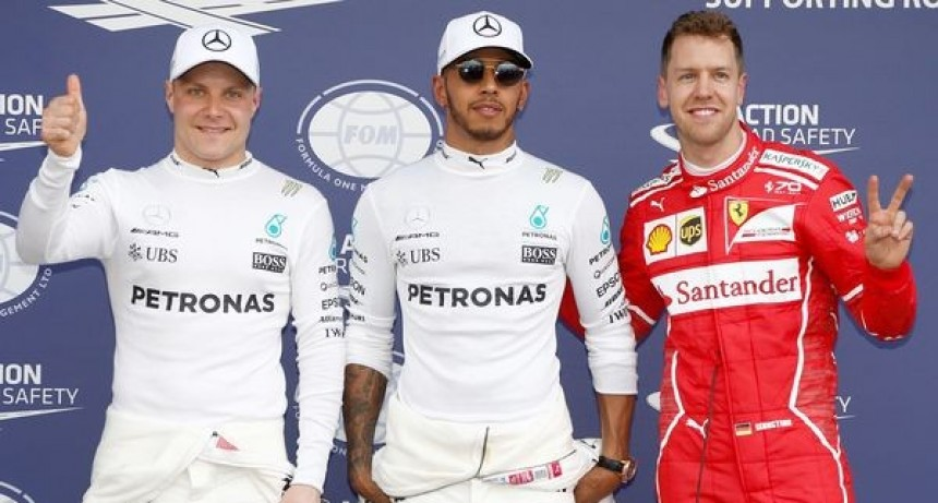 Hamilton intratable, Alonso 8º y Sainz 12º