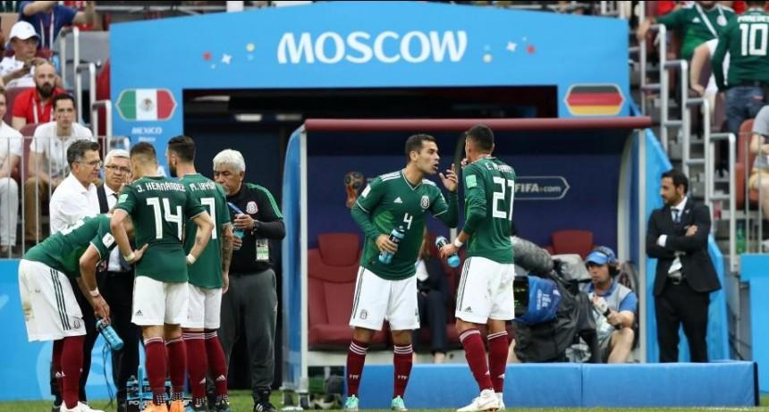 México vs Corea del Sur por el Grupo F del Mundial Rusia 2018