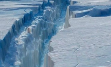 Se desprendió un iceberg de más de un billón de toneladas