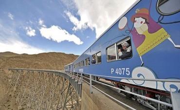 El Tren a las Nubes es uno de los atractivos más elegidos en estas vacaciones de invierno