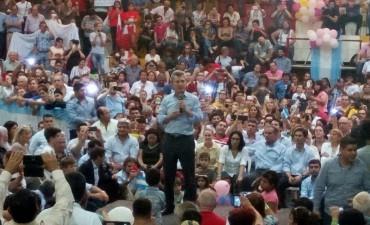 Macri : Hemos trabajado muy bien con el Gobernador y Hugo prometió que van a adherir a la Ley Pyme