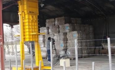 Productores de ovinos cuentan con el primer centro de acopio de lana de la provincia