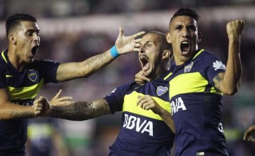 Boca consiguió un agónico triunfo tras vencer por penales a Banfield