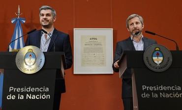 Peña y Frigerio destacaron la transparencia de las PASO