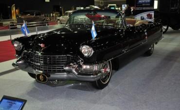 El Cadillac de Perón regresa restaurado a la Casa Rosada